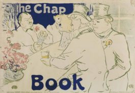 Henri de Toulouse-Lautrec-Irish And American Bar, Rue Royale - The Chap Book-1895