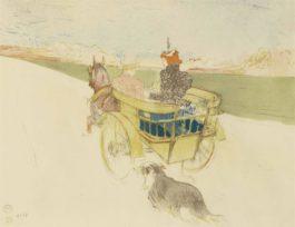 Henri Toulouse-Lautrec - Partie De Campagne, From Lalbum Des Estampes Originales De La Galerie Vollard-1897