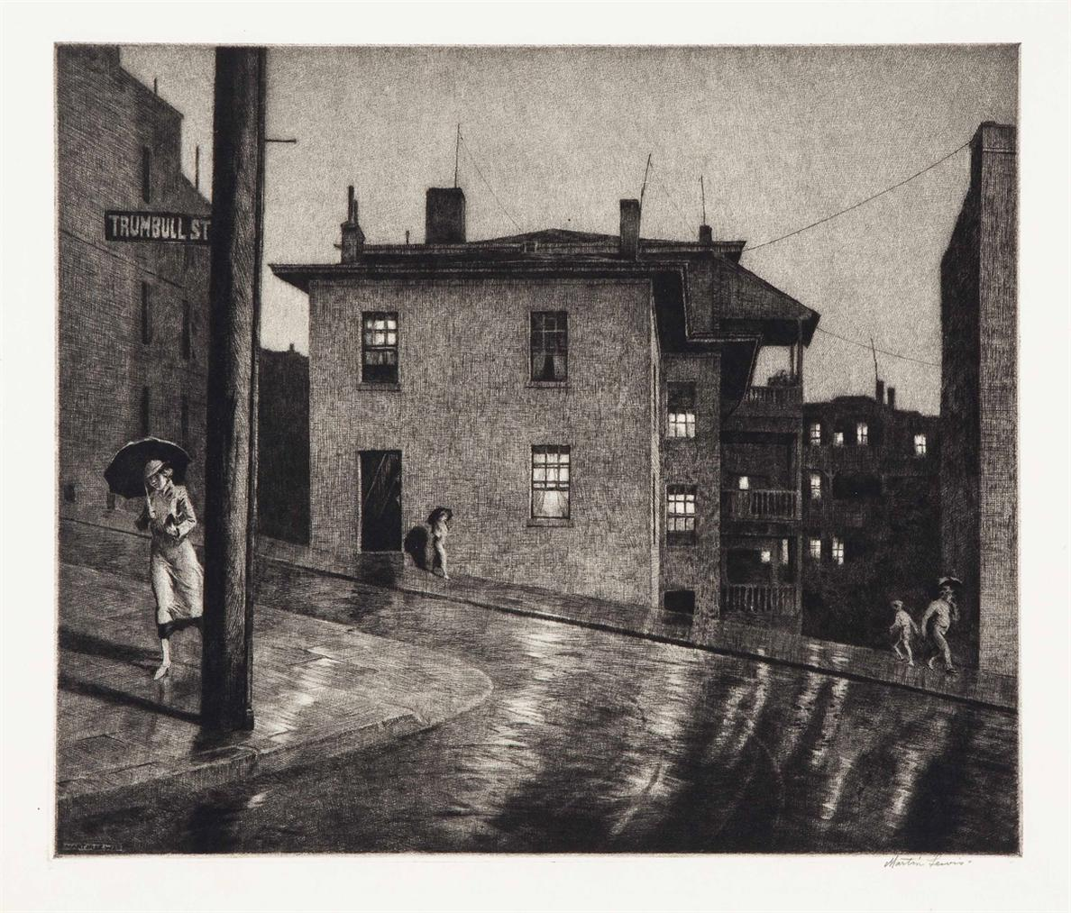 Martin Lewis-Trumbull Street-1934