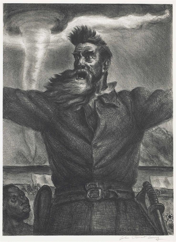 John Steuart Curry-John Brown-1939
