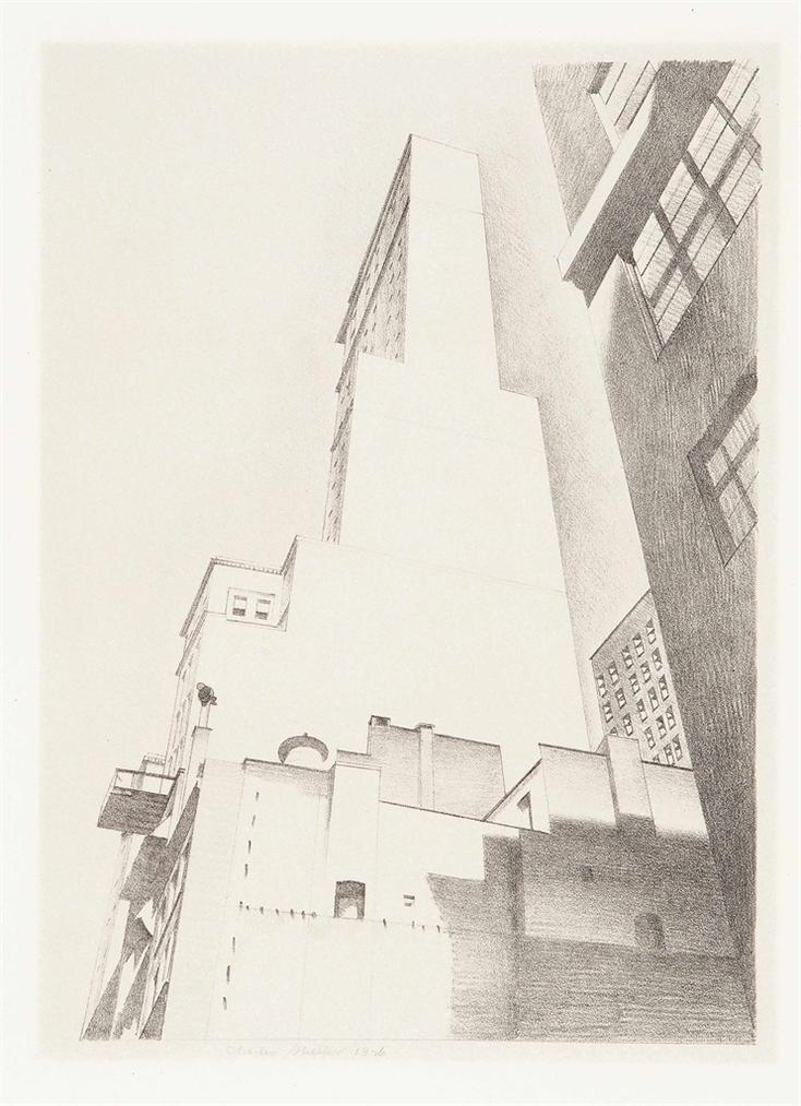 Charles Sheeler-The Delmonico Building-1926