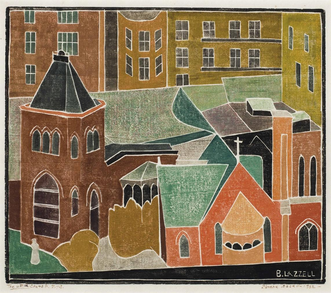 Blanche Lazzell - Little Church-1952