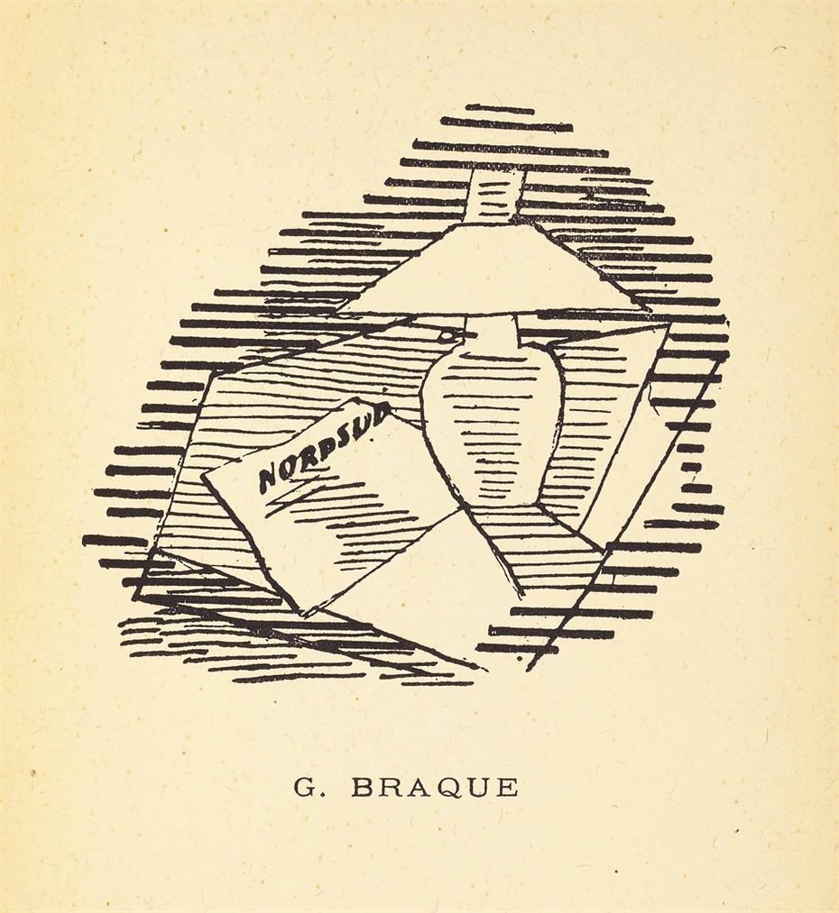 Georges Braque-Pierre Reverdy, Les Ardoises Du Toit, Paul Birault, Paris-1918
