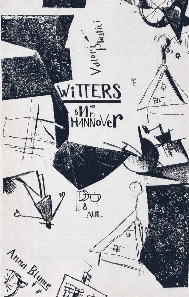 Kurt Schwitters-Die Kathedrale, Paul Steegemann, Hanover-1920