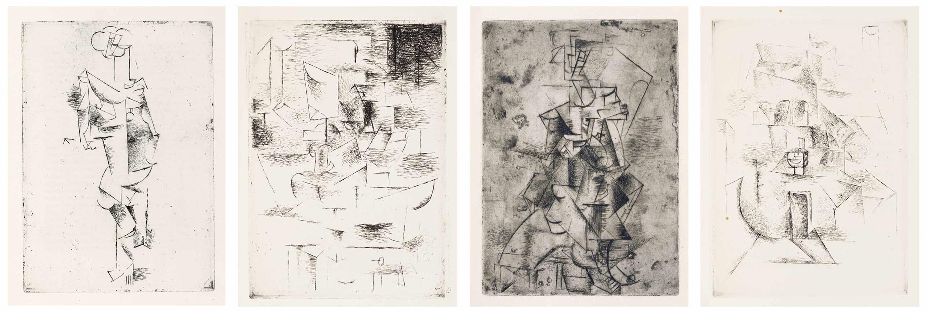 Pablo Picasso-Max Jacob, Saint Matorel, Henry Kahnweiler, Paris-1911