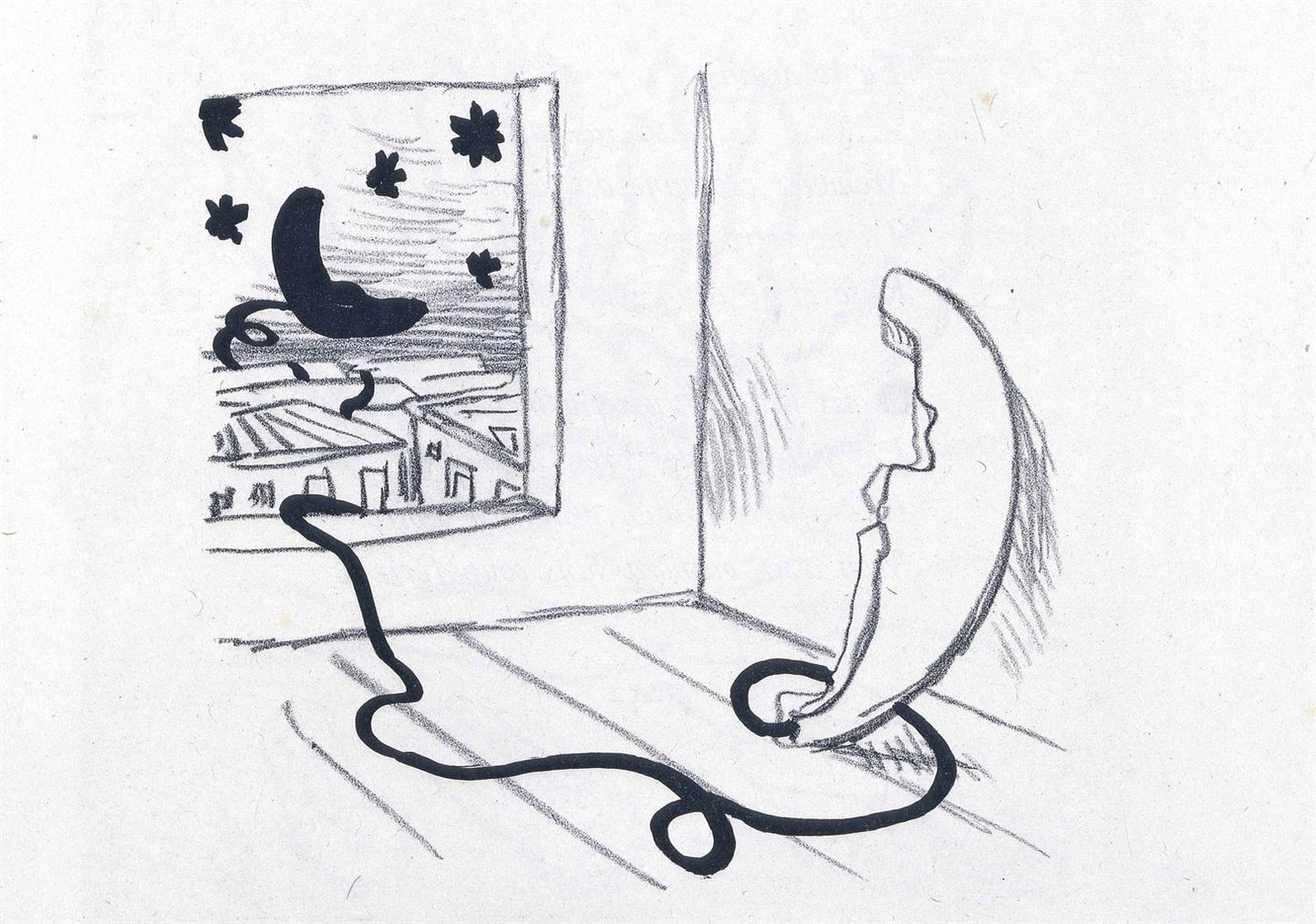 Giorgio de Chirico-Guillaume Apollinaire, Calligrammes, Nrf, Paris-1930