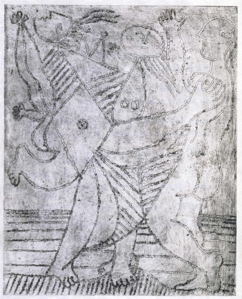 Pablo Picasso-Tristan Tzara, Lantitete. Cahiers Libres, Paris-1933