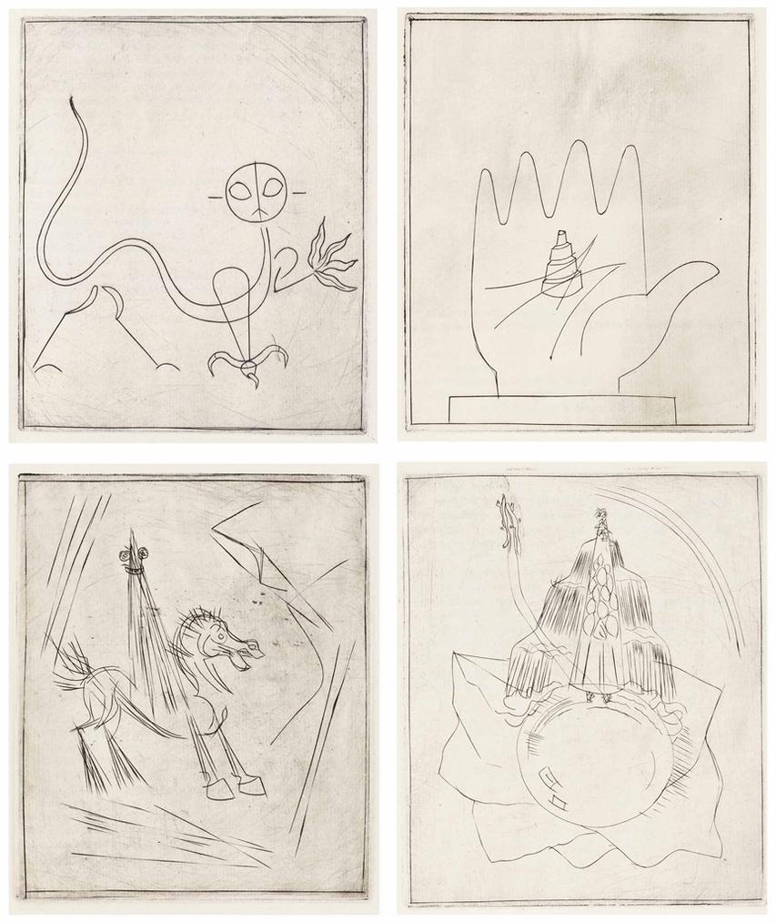 Alberto Giacometti-Andre Breton, Lair De Leau. Cahiers D'Art, Paris-1934
