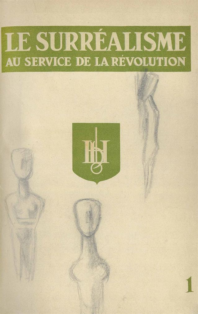 Various Artists - Le Surrealisme Au Service De La Revolution, Corti, Paris, July 1930 - May 1933-1933