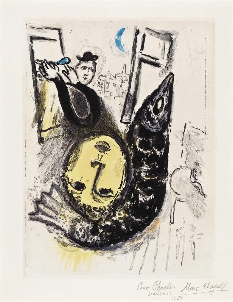 Marc Chagall-Jean Paulhan, De Mauvais Sujets, Les Bibliophiles De Lunion Francaise, Paris-1958