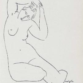 Amedeo Modigliani-Roger Frene, Les Nymphes. Poeme, Ronald Davies & Cie, Paris-1921