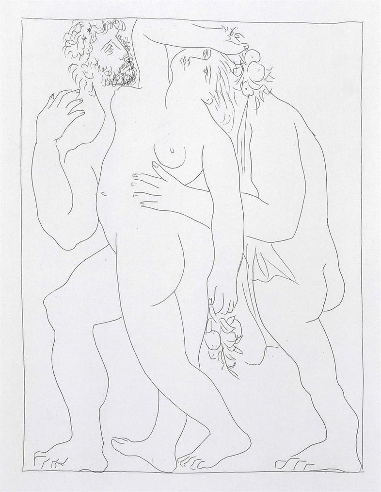 Pablo Picasso-Ovide, Les Metamorphoses. Albert Skira, Lausanne-1931