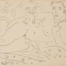 Henri Matisse-Nu, Main Gauche Pres De Lepaule-1926