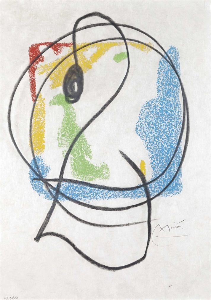 Joan Miro-Les Essencies De La Terra-1968