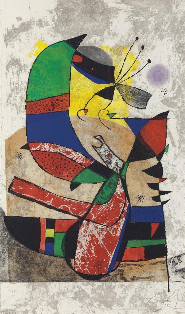 Joan Miro-Gaudi I-1979