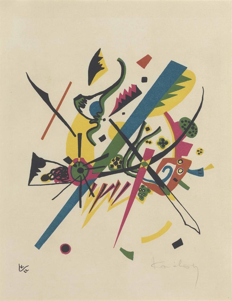 Wassily Kandinsky-Kleine Welten I-1922