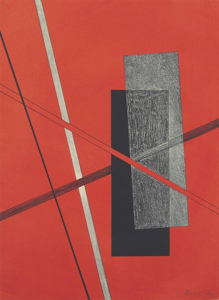 Laszlo Moholy-Nagy-Konstruktion Iv, From Konstruktionen 6. Kestnermappe-1923