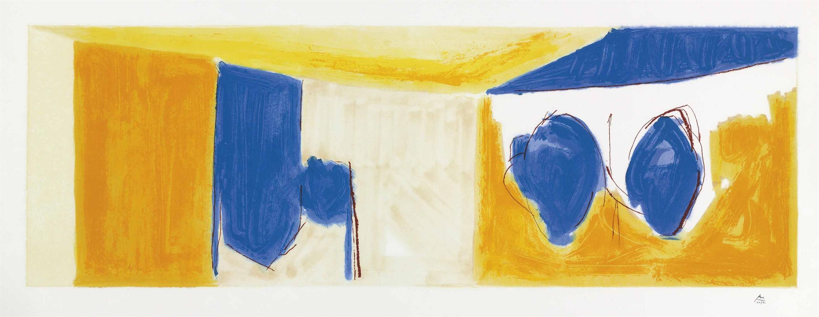 Robert Motherwell-Mediterranean Light-1991