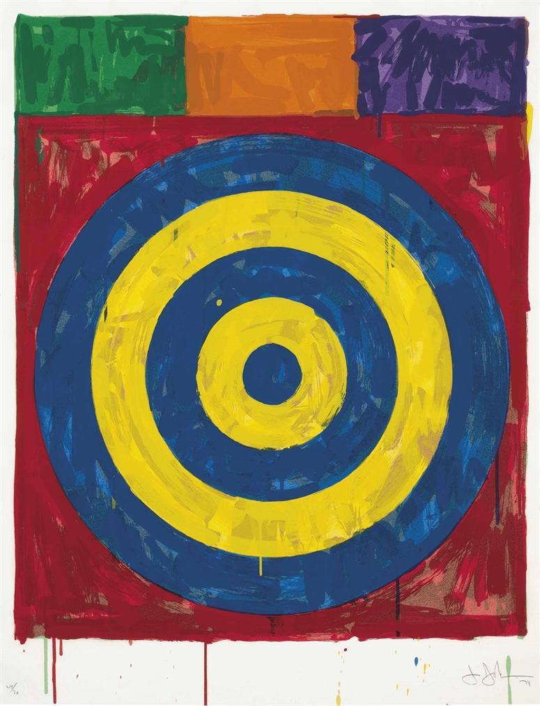 Jasper Johns-Target-1974