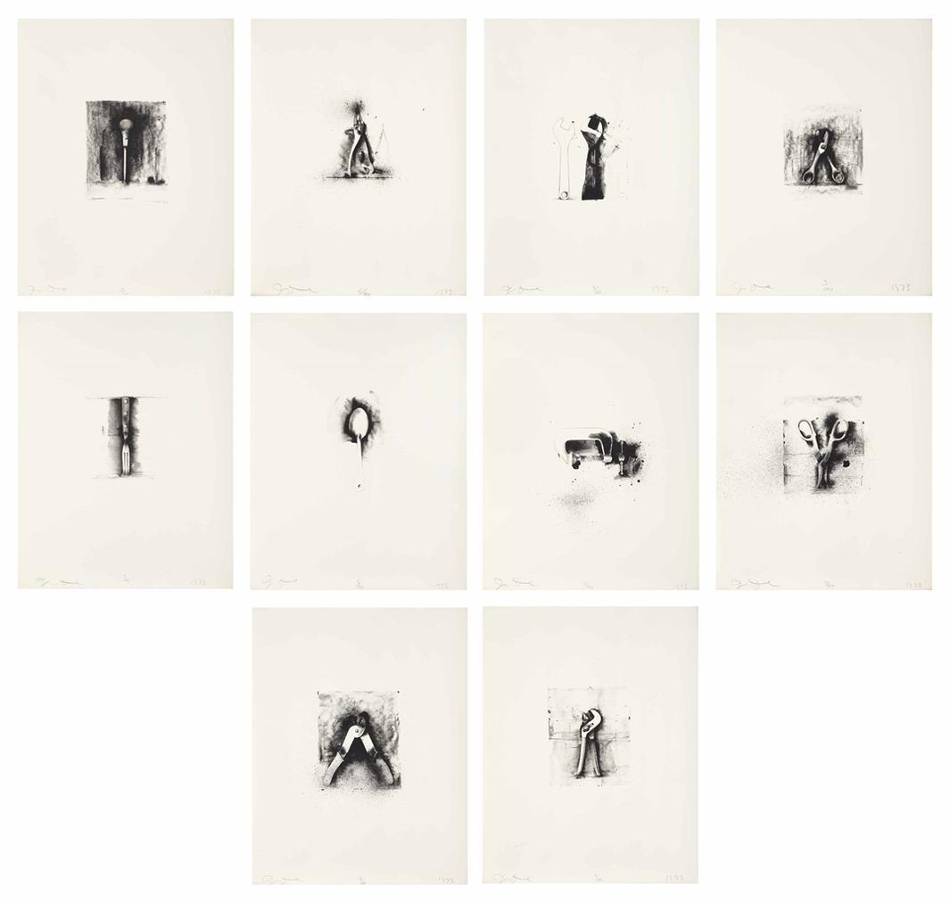 Jim Dine-Ten Winter Tools-1973