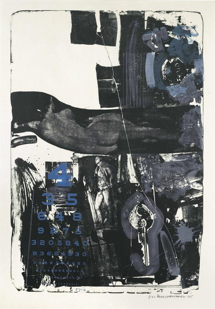 Robert Rauschenberg-Breakthrough II-1965
