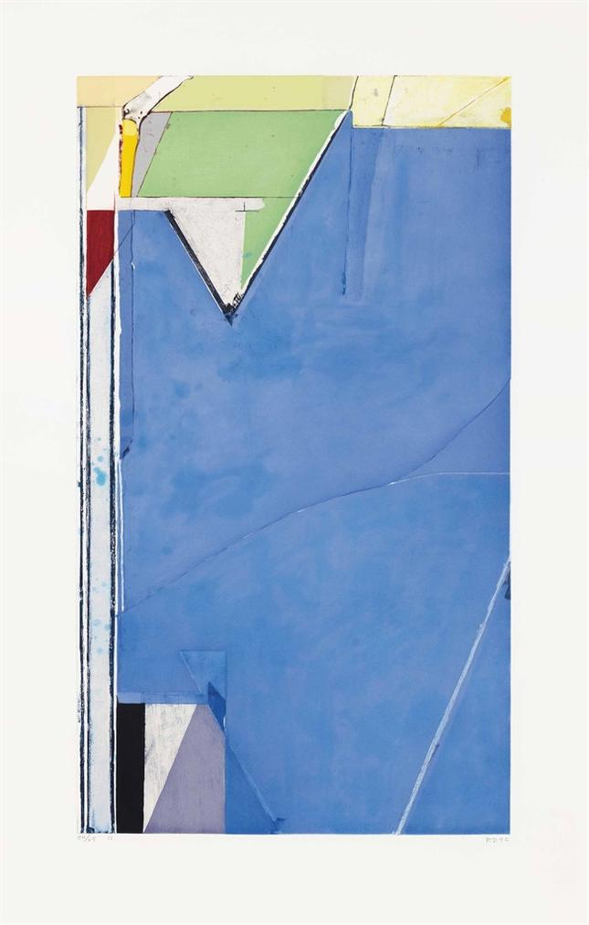 Richard Diebenkorn-High Green, Version II-1992
