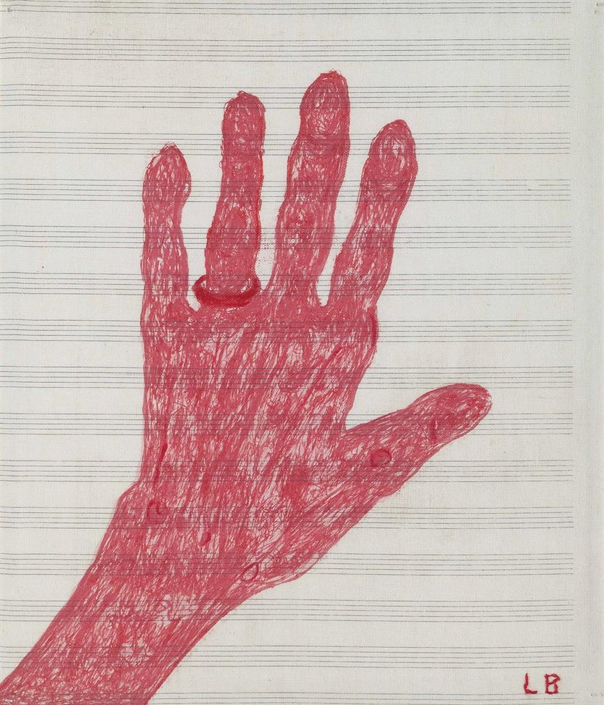 Louise Bourgeois-My Hand-2002