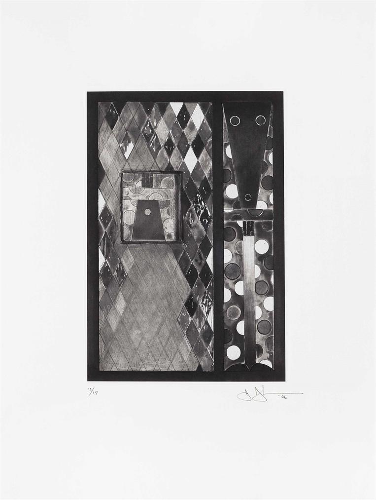 Jasper Johns-Bushbaby-2006