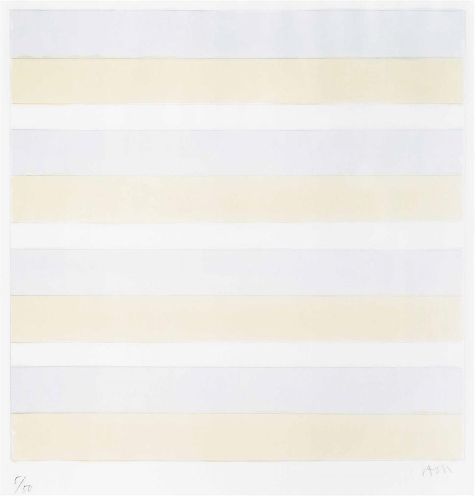 Agnes Martin-Untitled-1997
