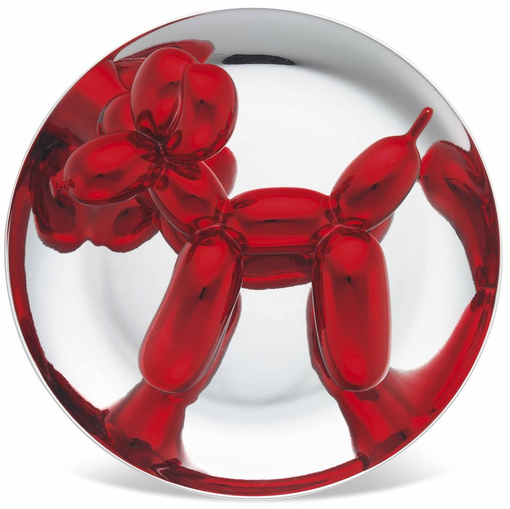 Jeff Koons-Balloon Dog (Red)-2002