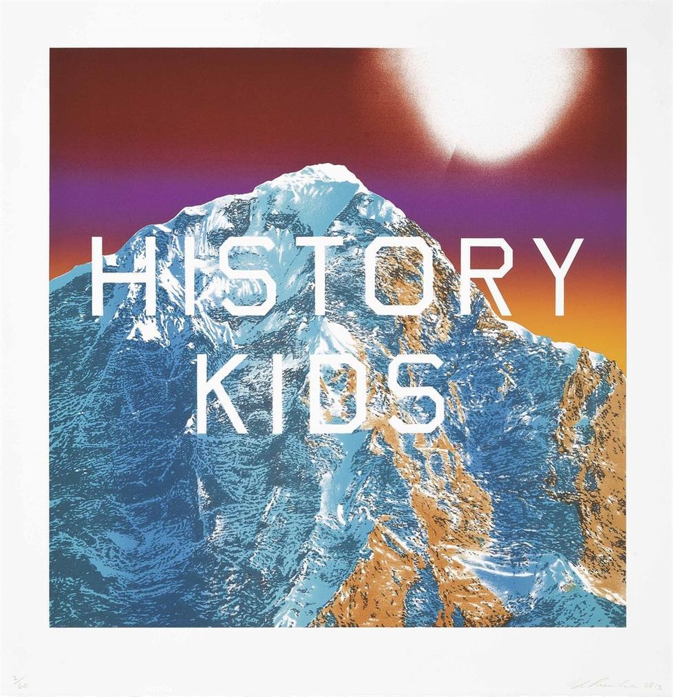 Ed Ruscha-History Kids-2013
