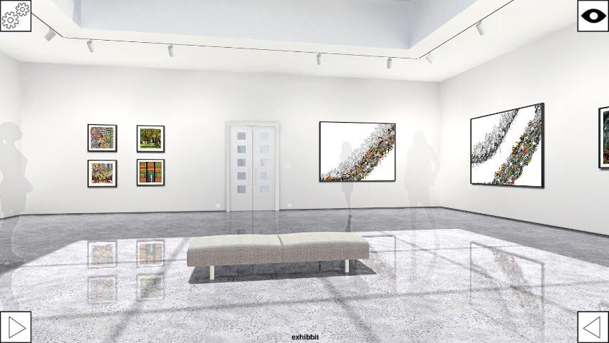 3D Online Art Gallery
