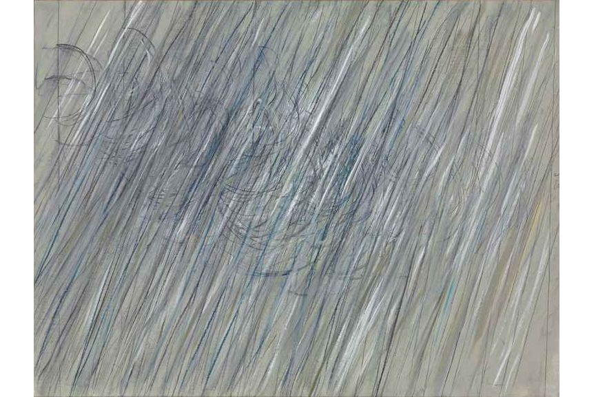 Cy Twombly Untitled 1971