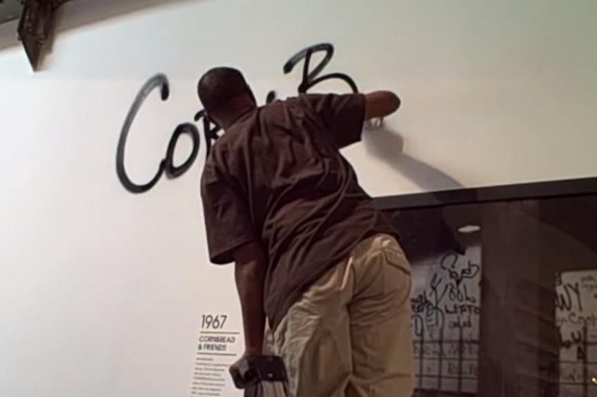 CORNBREAD AND TAKI 183, MOCA ART IN THE STREETS 2011
