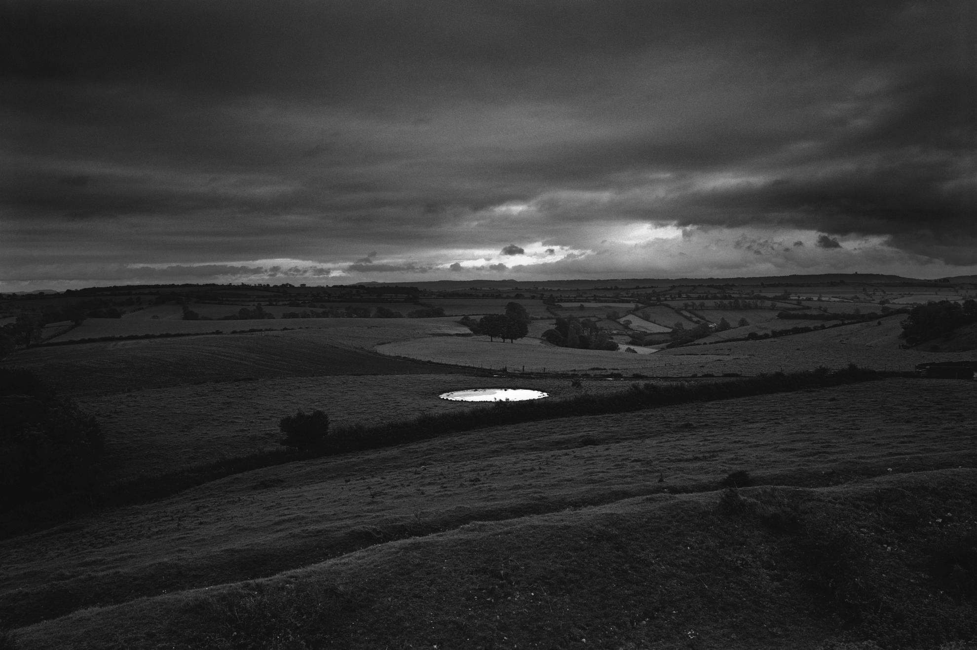 Don Mccullin - Dew-Pond By Iron Age Hill Fort, Somerset, 1988-1988