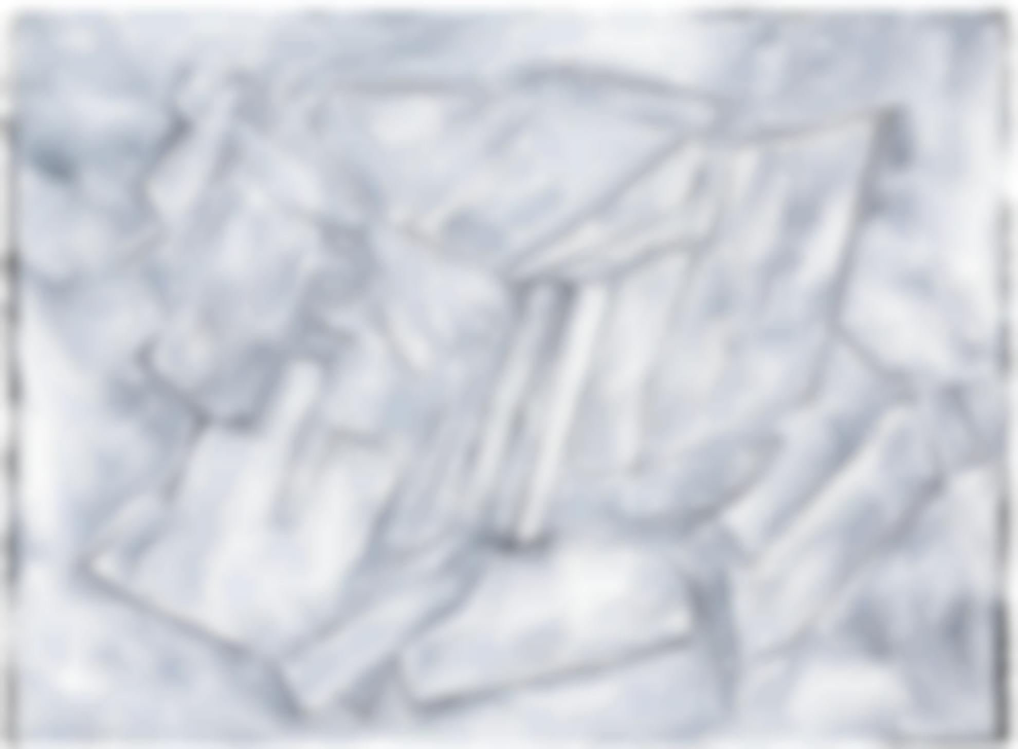 Phyllida Barlow-Untitled: Whiteblack-2015