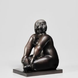 Fernando Botero-Seated Woman-2006