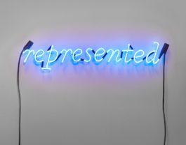 Joseph Kosuth-No Number #001 (Cobalt Blue)-1989