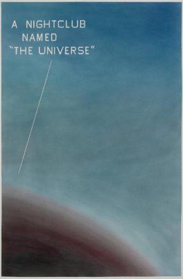 Ed Ruscha-A Nightclub Named 'The Universe'-1982
