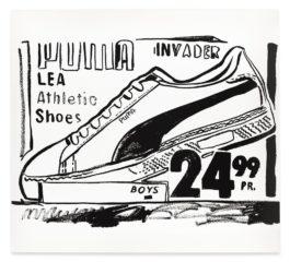 Andy Warhol-Puma Invader (Positive)-1986
