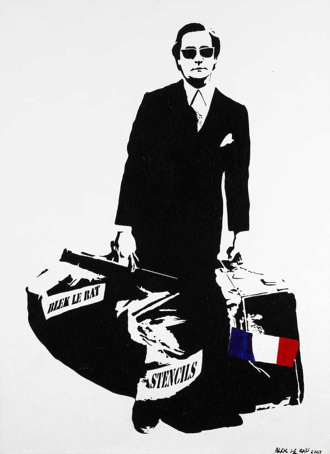 Blek le Rat-Man Who Walks Through Walls-2007