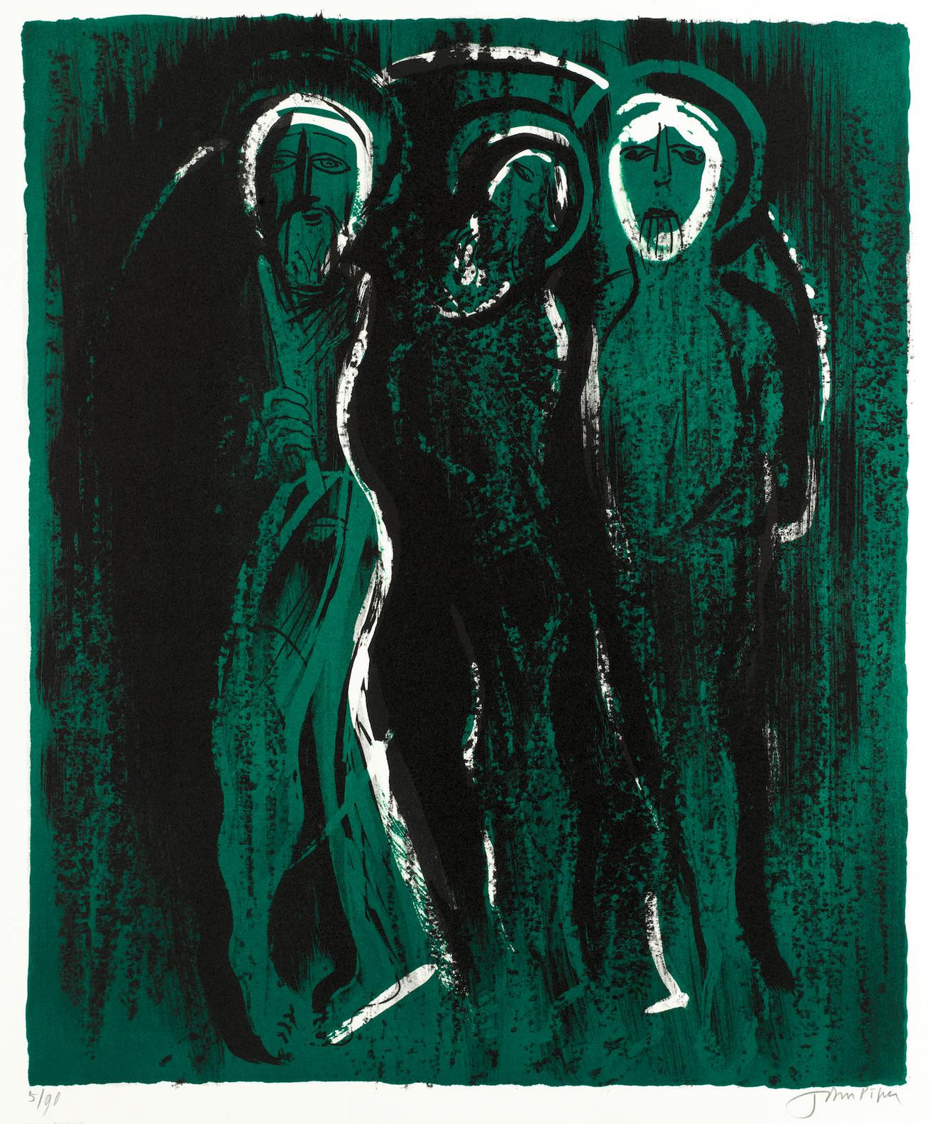 John Piper-The Visitation-1975