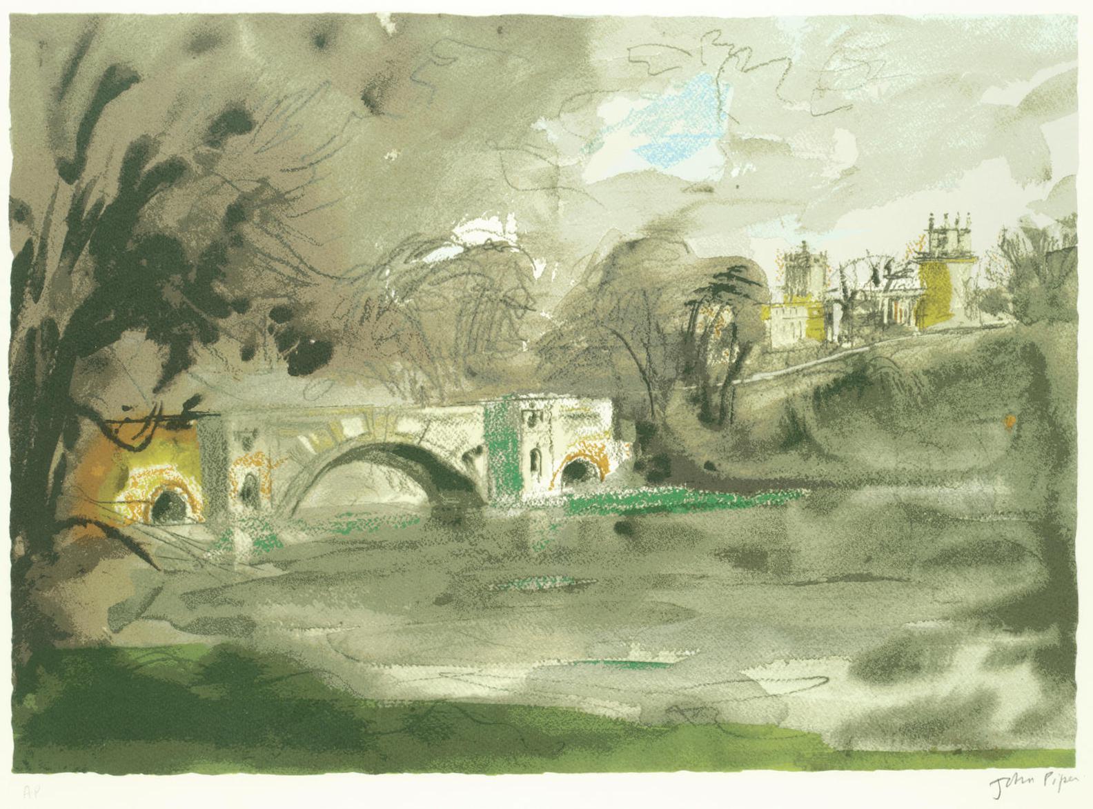 John Piper-Blenheim Bridge-1988