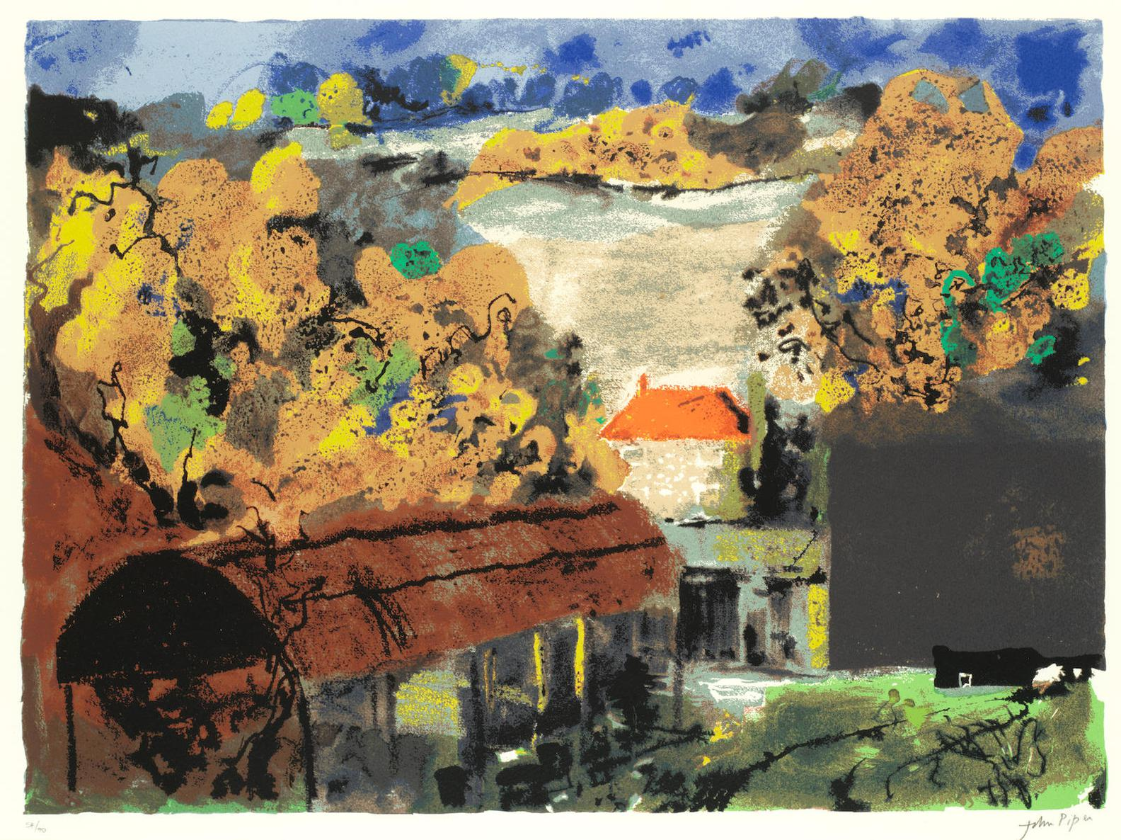 John Piper-Fawley Bottom-1988