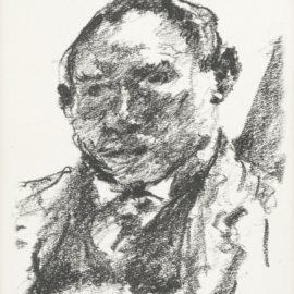 Lovis Corinth-Selbstbildnis Oktober 1922-1922