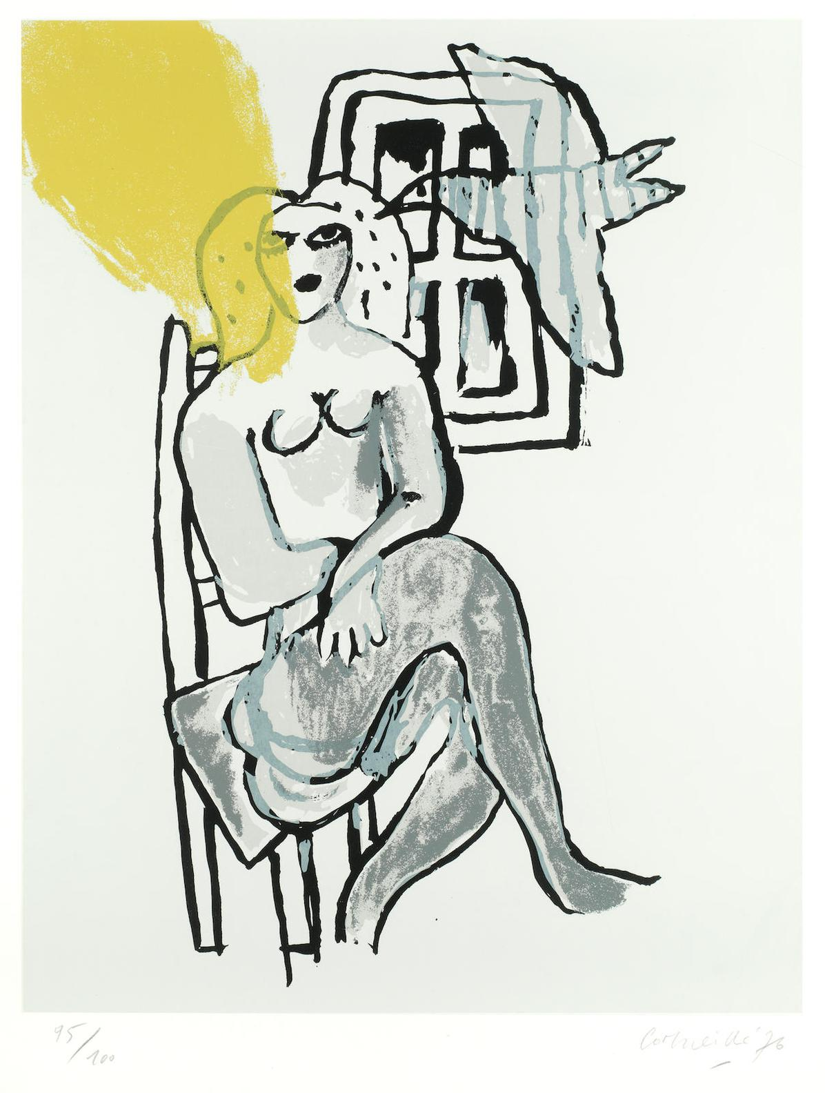 Corneille-Seated Woman-1976