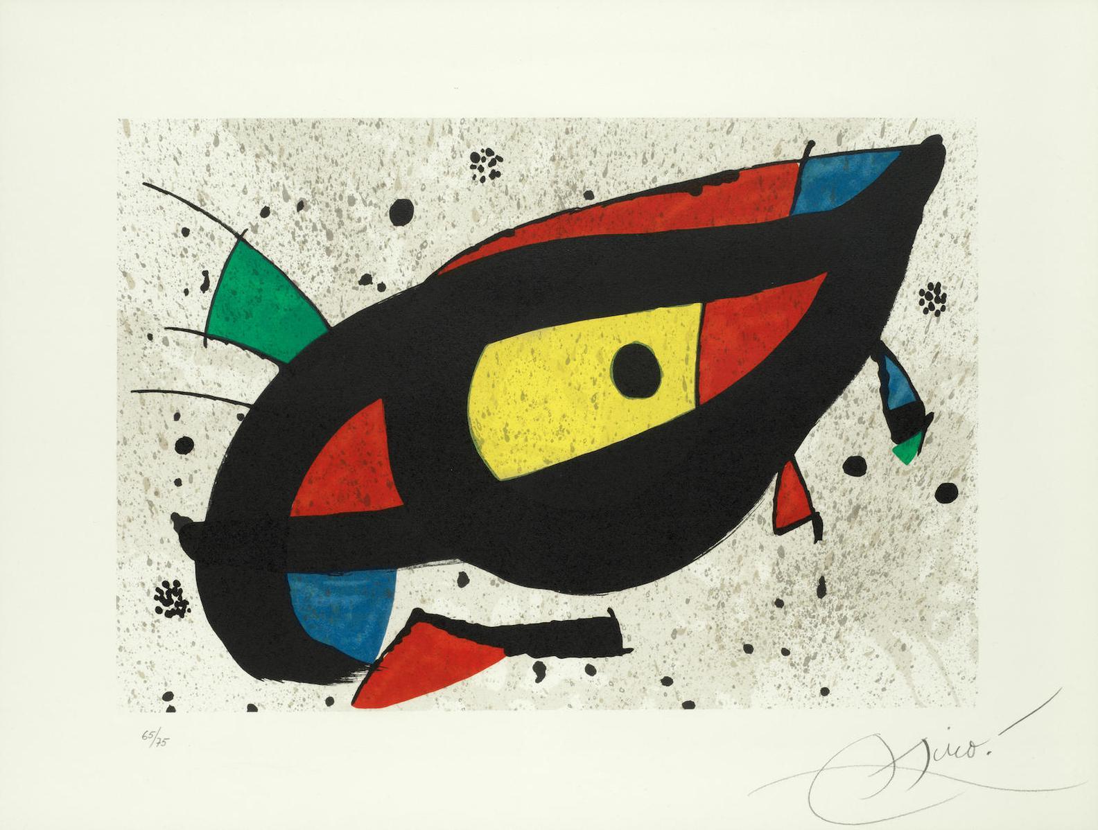 Joan Miro-Pintura-1978