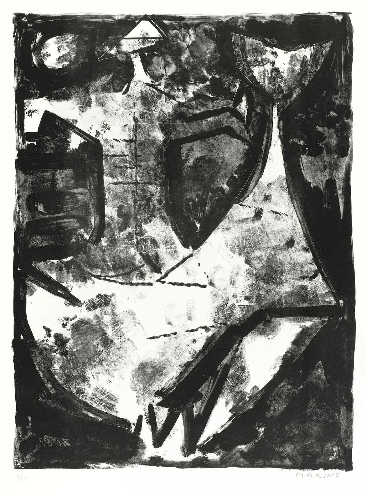 Marino Marini-Lidea Del Cavaliere-1963