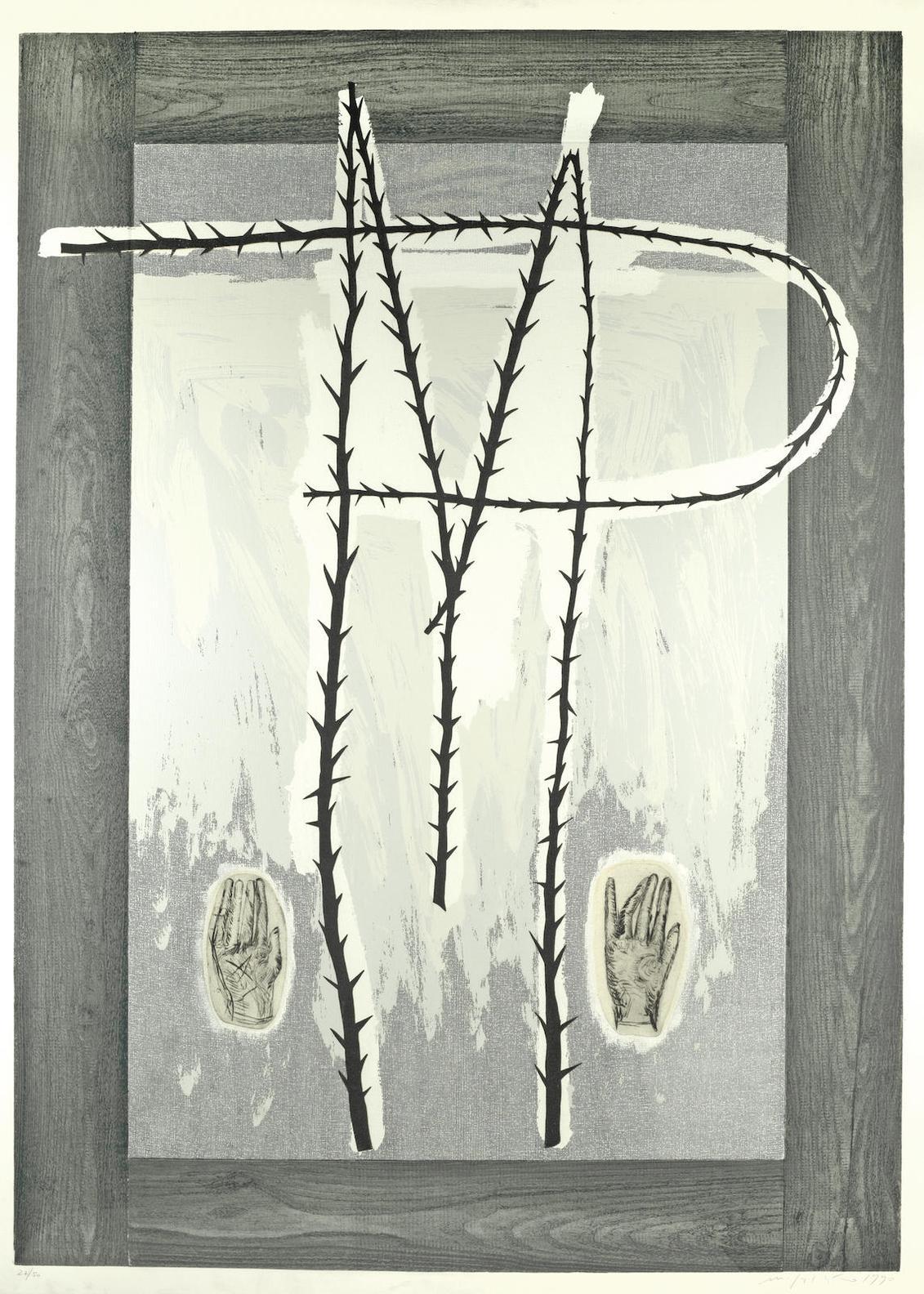Mimmo Paladino-Gli Alberi Che Nel Corpo Nascono (Trees That Spring From The Body Itself)-1990