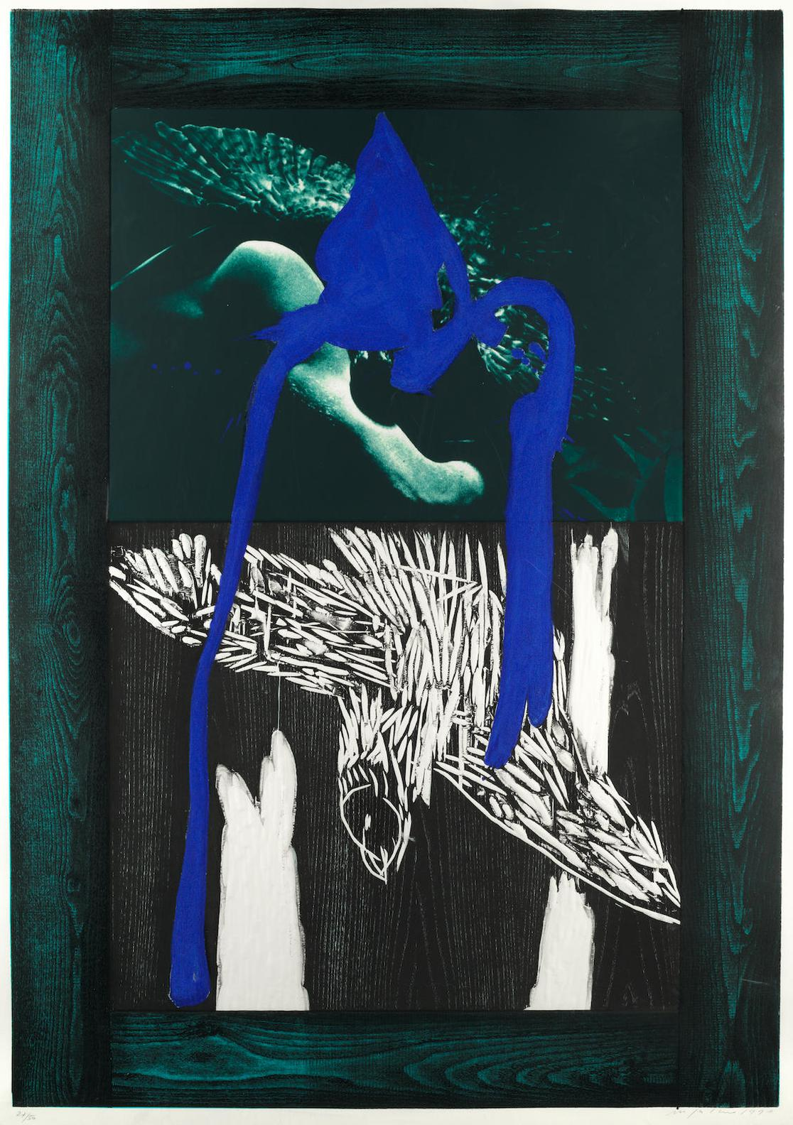 Mimmo Paladino-Gli Uccelli Di Notte (The Night Birds)-1990